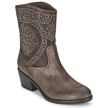 Čevlji  Ženske Gležnjarji Now PIOMBO Siva