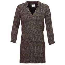 Oblačila Ženske Kratke obleke Stella Forest BRO024 Kaki