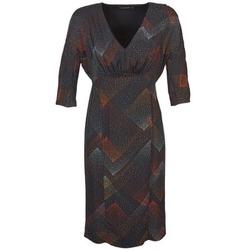 Oblačila Ženske Kratke obleke Antik Batik ORION Črna