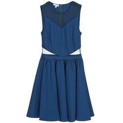 Oblačila Ženske Kratke obleke Brigitte Bardot BB45080 Modra