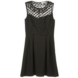 Oblačila Ženske Kratke obleke Brigitte Bardot BB45057 Črna