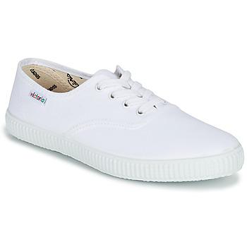 Čevlji  Nizke superge Victoria INGLESA LONA Bela