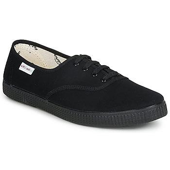 Čevlji  Nizke superge Victoria INGLESA LONA PISO Črna