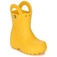 Čevlji  Otroci škornji za dež  Crocs HANDLE IT RAIN BOOT KIDS Rumena