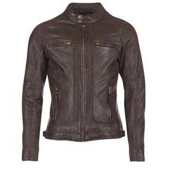 Oblačila Moški Usnjene jakne & Sintetične jakne Oakwood CASEY Kostanjeva