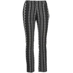 Oblačila Ženske Hlače s 5 žepi Manoush TAILLEUR Siva / Črna