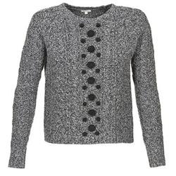 Oblačila Ženske Puloverji Manoush TORSADE Siva / Črna