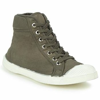 Čevlji  Visoke superge Bensimon TENNIS MID Taupe