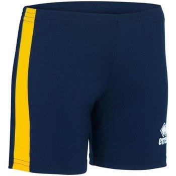 Oblačila Ženske Kratke hlače & Bermuda Errea Short femme  Amazon bleu marine/blanc