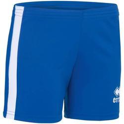 Oblačila Deklice Kratke hlače & Bermuda Errea Short femme enfant  Amazon bleu marine/blanc
