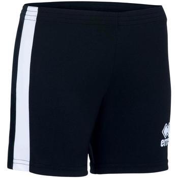 Oblačila Deklice Kratke hlače & Bermuda Errea Short femme enfant  Amazon noir/blanc