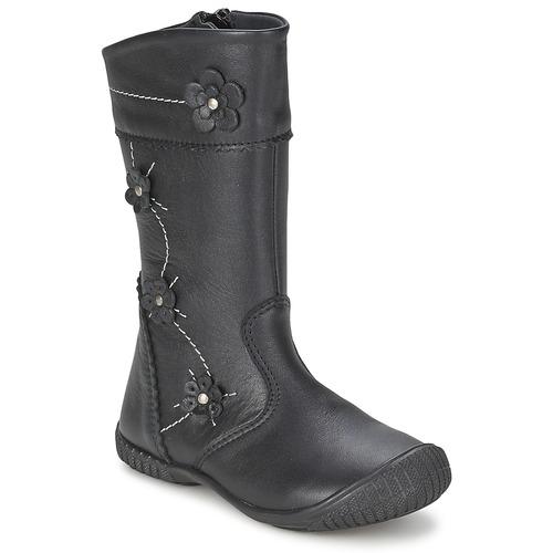 Čevlji  Deklice Mestni škornji    Citrouille et Compagnie AMATIS Črna