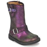 Čevlji  Deklice Mestni škornji    Pom d'Api HIKE BIKER Vijolična