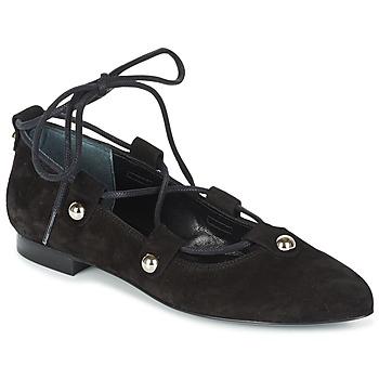 Čevlji  Ženske Balerinke Sonia Rykiel 622107 Črna