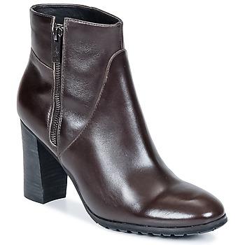 Čevlji  Ženske Gležnjarji One Step ISIAH Choco