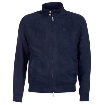 Oblačila Moški Usnjene jakne & Sintetične jakne Serge Blanco FIDENZA Modra