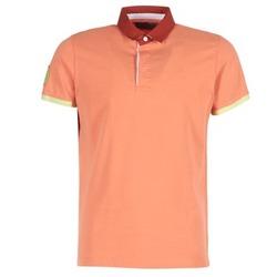 Oblačila Moški Polo majice kratki rokavi Serge Blanco PRC1256 Koralna