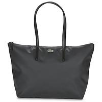 Torbice Ženske Nakupovalne torbe Lacoste L.12.12 CONCEPT L Črna
