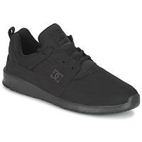 Čevlji  Moški Nizke superge DC Shoes HEATHROW M SHOE 3BK Črna