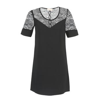 Oblačila Ženske Kratke obleke Moony Mood FUFU Črna