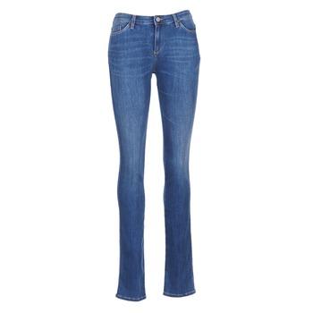 Oblačila Ženske Jeans straight Armani jeans HOUKITI Modra