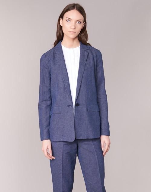 Oblačila Ženske Jakne & Blazerji Armani jeans FADIOTTA Modra