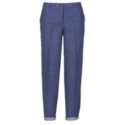 Oblačila Ženske Hlače s 5 žepi Armani jeans JAFLORE Modra