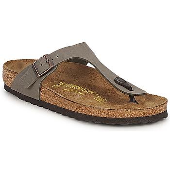 Čevlji  Ženske Sandali & Odprti čevlji Birkenstock GIZEH Stone