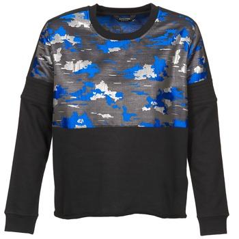 Oblačila Ženske Puloverji Eleven Paris FORTEX Črna / Modra