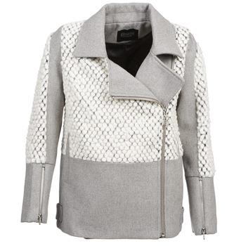Oblačila Ženske Plašči Eleven Paris FLEITZ Siva / Bež