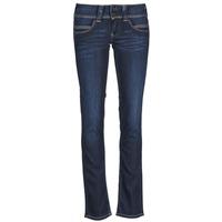 Oblačila Ženske Jeans straight Pepe jeans VENUS Modra / H06