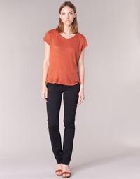 Oblačila Ženske Hlače s 5 žepi Pepe jeans VENUS Črna