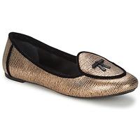 Čevlji  Ženske Balerinke Etro 3078 Zlata