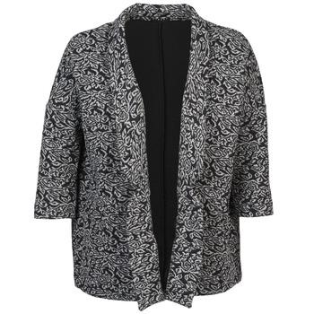 Oblačila Ženske Jakne & Blazerji Sisley FRANDA Črna / Siva