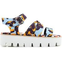 Čevlji  Ženske Sandali & Odprti čevlji Msgm 2042MDS62 014 multicolore