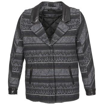 Oblačila Ženske Plašči Color Block ALTONA Črna