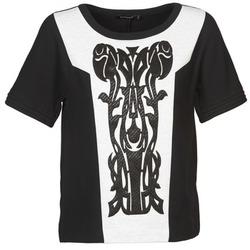Oblačila Ženske Topi & Bluze Color Block LANETT Črna