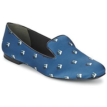 Čevlji  Ženske Balerinke Kenzo 2SL110 Modra