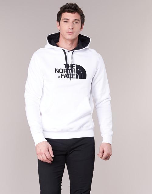 Oblačila Moški Puloverji The North Face DREW PEAK PULLOVER HOODIE Bela