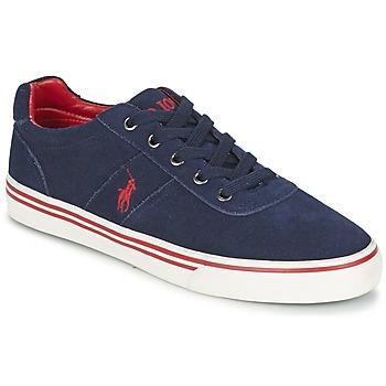 Čevlji  Moški Nizke superge Polo Ralph Lauren HANFORD Modra