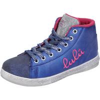 Čevlji  Deklice Visoke superge Lulu Superge AH227 Modra