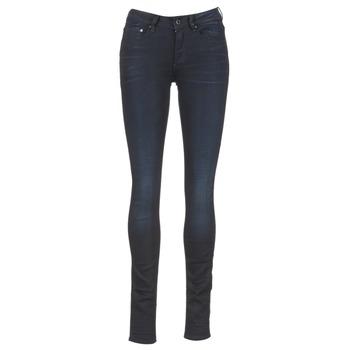 Oblačila Ženske Jeans skinny G-Star Raw 3301 HIGH SKINNY Niebieski