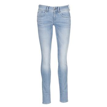 Oblačila Ženske Jeans skinny G-Star Raw LYNN MID SKINNY Modra / Svetla