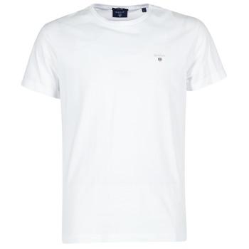 Oblačila Moški Majice s kratkimi rokavi Gant THE ORIGINAL T-SHIRT Bela