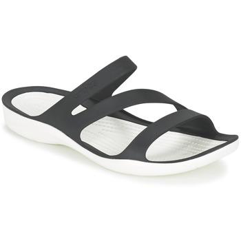 Čevlji  Ženske Sandali & Odprti čevlji Crocs SWIFTWATER SANDAL W Črna / Bela