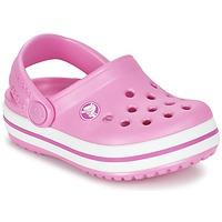 Čevlji  Deklice Cokli Crocs Crocband Clog Kids Rožnata