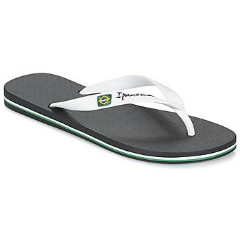 Čevlji  Moški Japonke Ipanema CLASSICA BRASIL II Črna / Bela