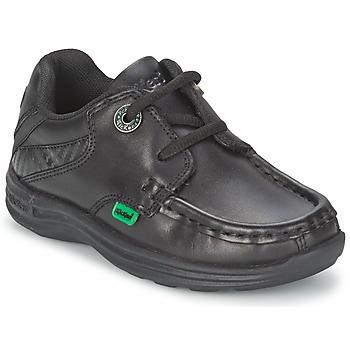 Čevlji  Otroci Mokasini & Jadralni čevlji Kickers REASON LACE Črna