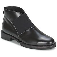 Čevlji  Ženske Gležnjarji F-Troupe Chelsea Boot Črna