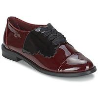 Čevlji  Ženske Čevlji Derby F-Troupe Butterfly Shoe Vinsko rdeča